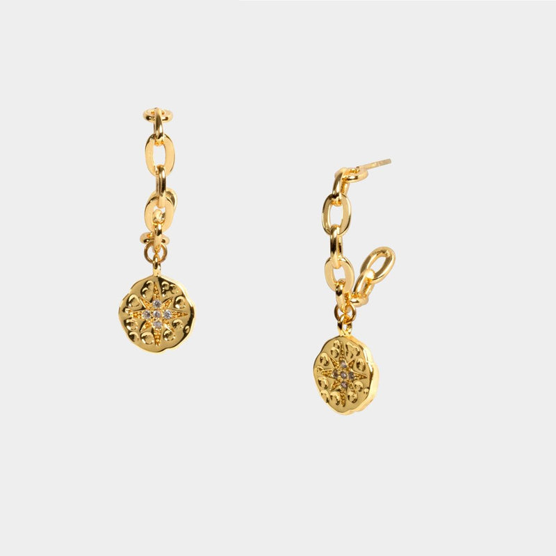 Aviana Coin Earrings