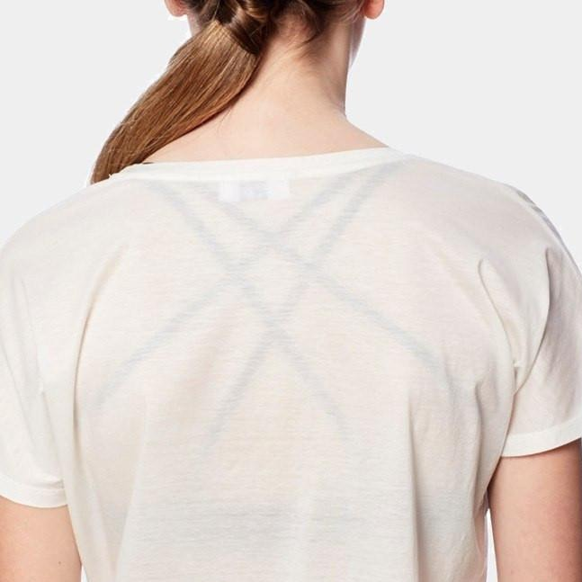 U neck Tee- Tencel Extra Soft. White, eco clothing, natural clothing, green clothing, luxury clothing, organic clothing, affordable clothing, eco friendly tee