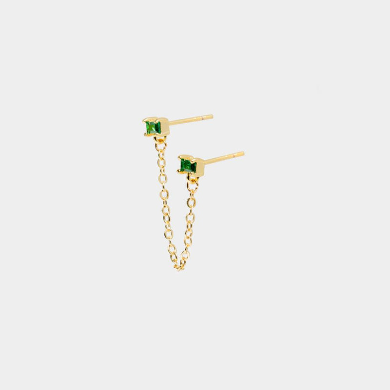 Bel Double Chain Studs-D