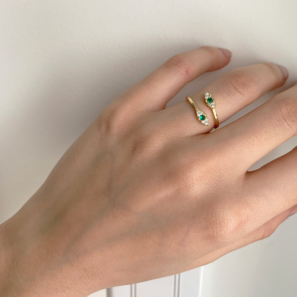 Cleopatra Double Ring