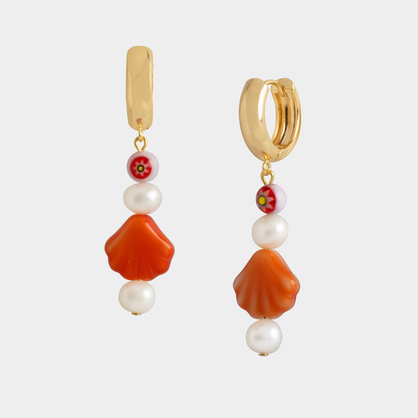 Gatha Shell Earrings