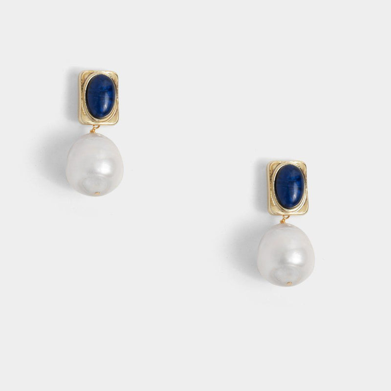 Birdie Pearl Earrings