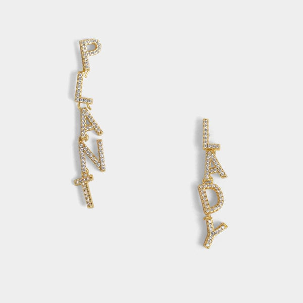 Plant Lady CZ Earrings