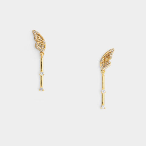 Monarch Bar Earrings