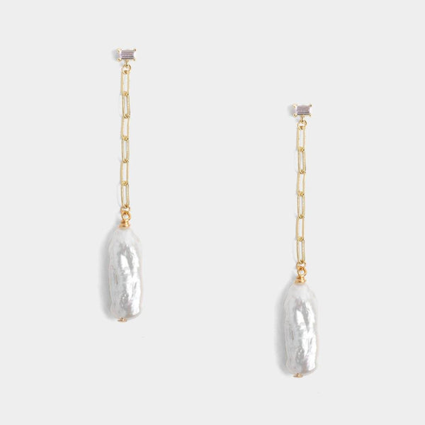 Bel Link Pearl Earrings