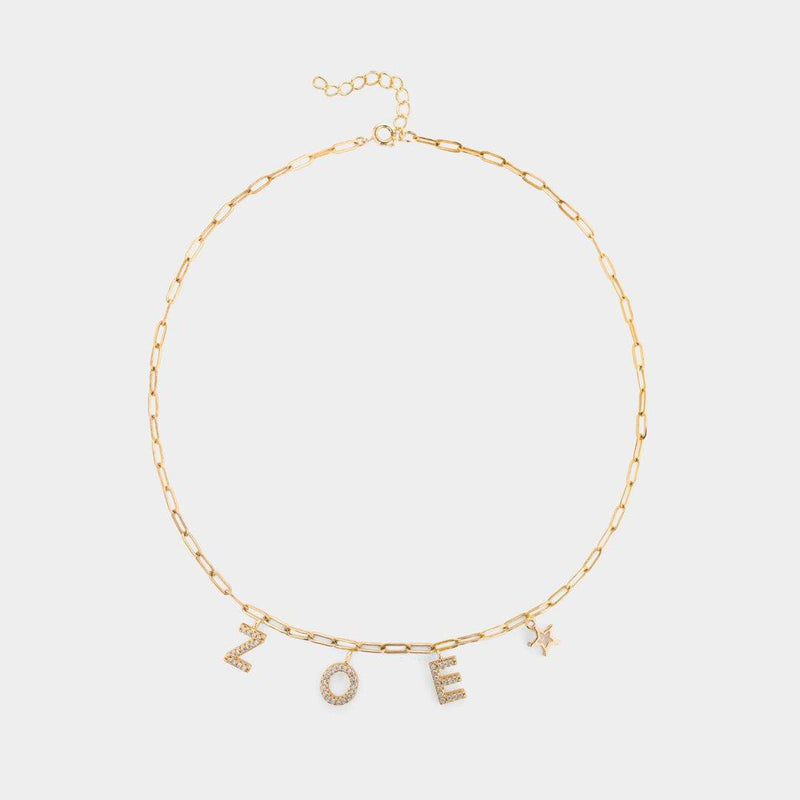 Aubin Charm Necklace