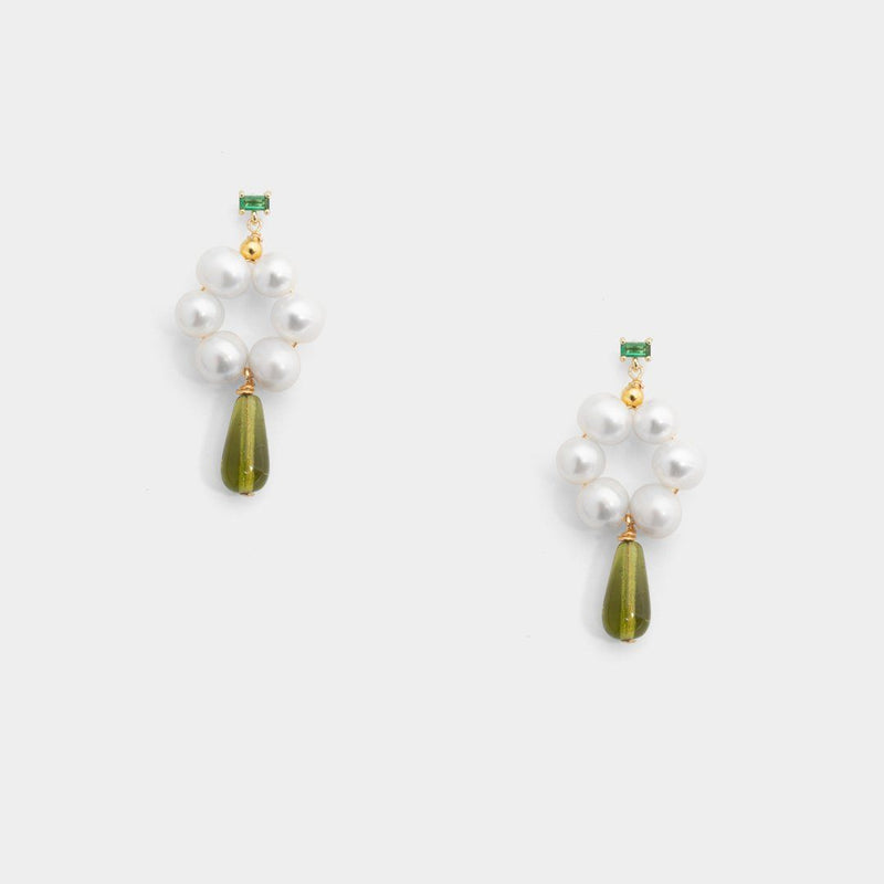 Gia floral drop Earrings