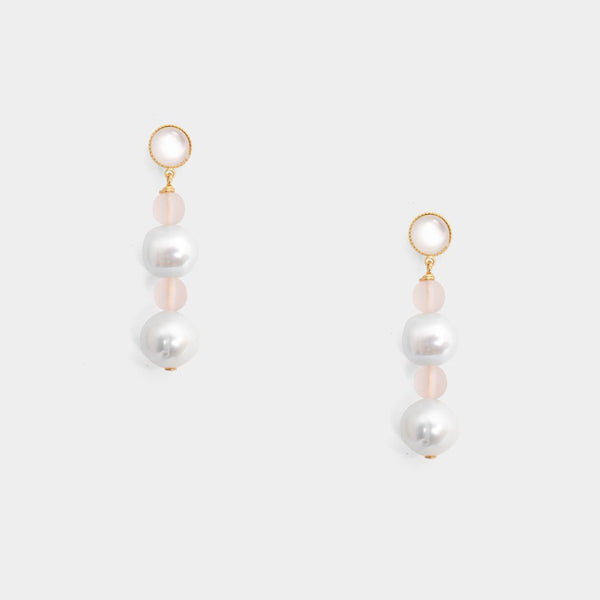 Gwen opal Earrings