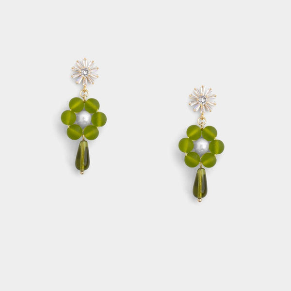 Bethany Tear Floral Earrings