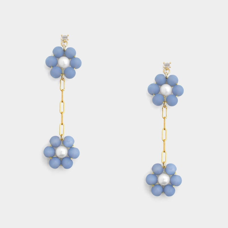 Bel Twins Floral Earrings