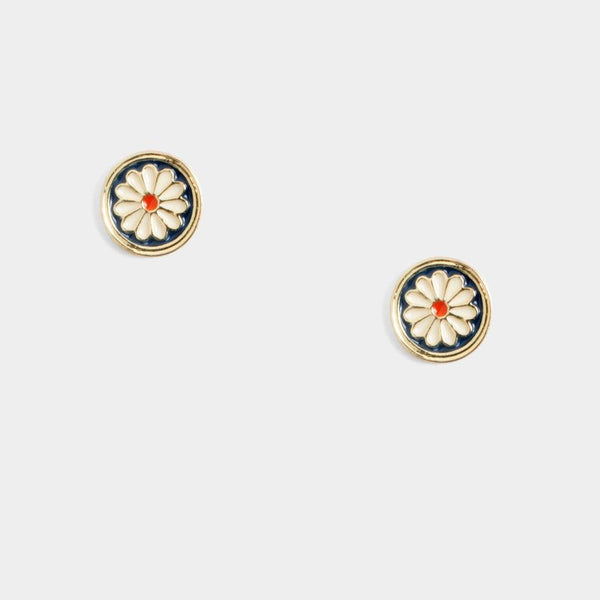 Glo Circle Earrings