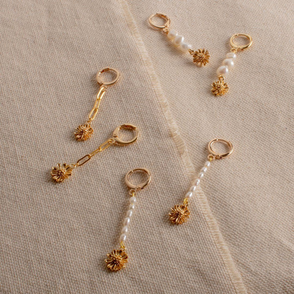 Fleur Drop Earrings