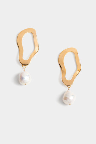 Trio Pearl Earrings