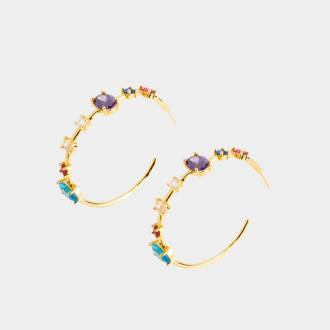 Madrid Hoop Earrings