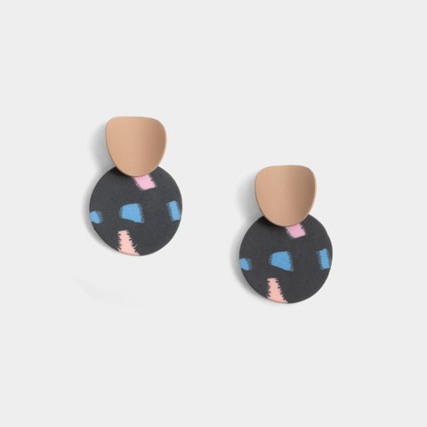 Nia Face Earrings