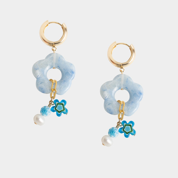 Rachel Floral Earrings