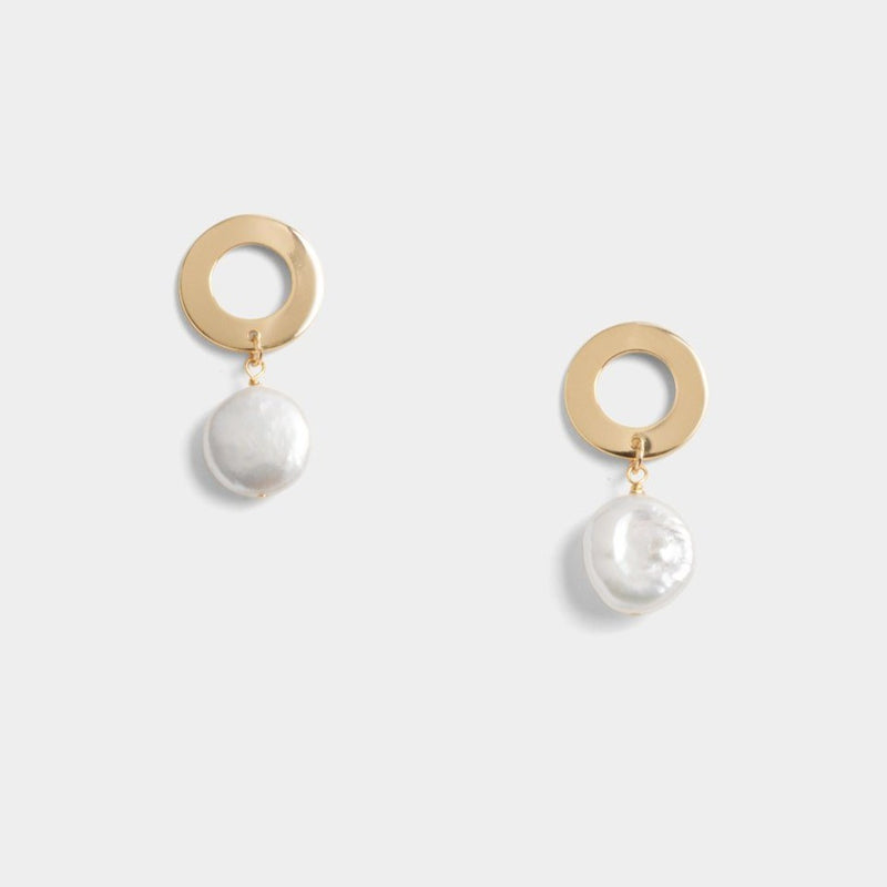 Avery Coin Earrings