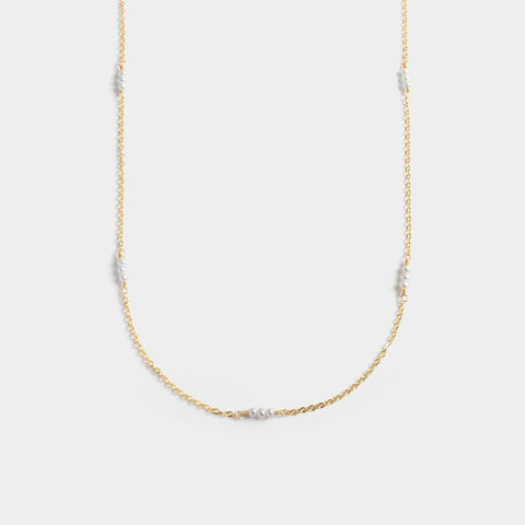 Lily Paved Necklace