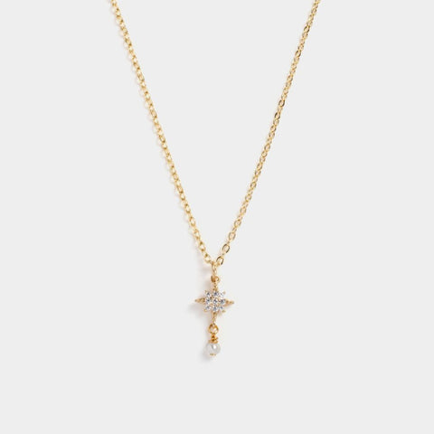 Trio Mini Pearl Necklace