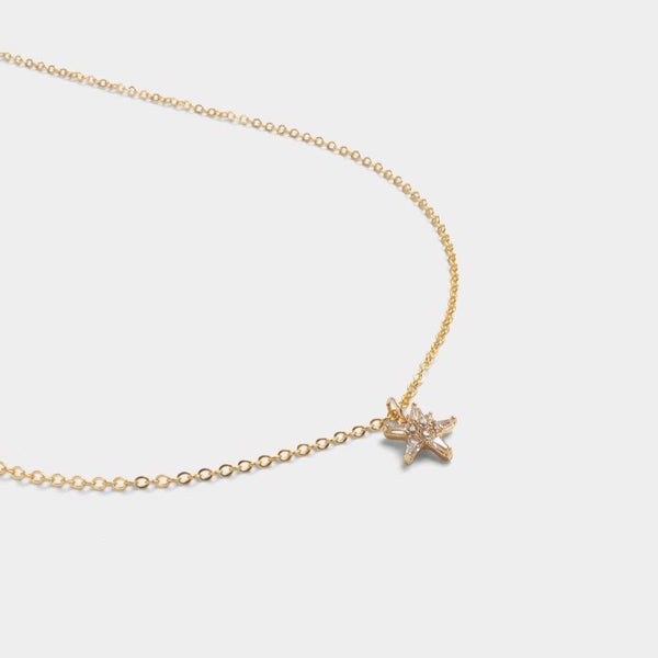Penta Star Necklace