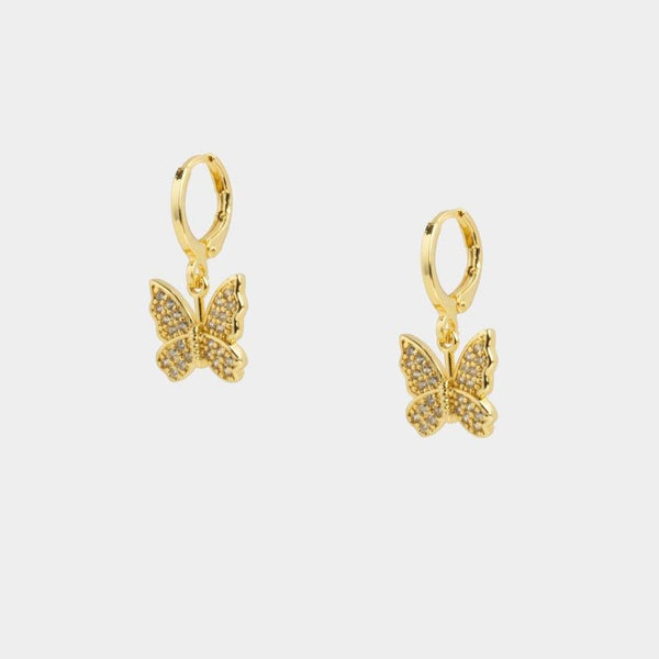 Holly Butterfly Earrings
