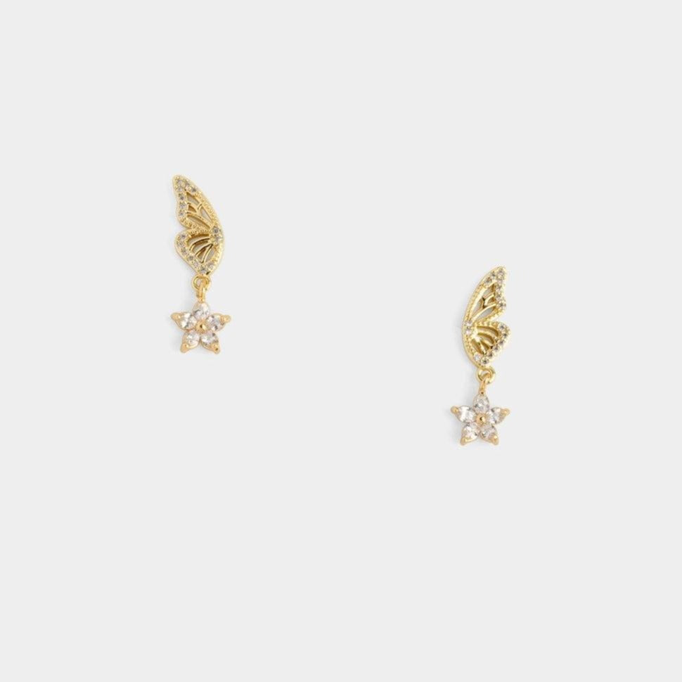 Monarch Star Earrings