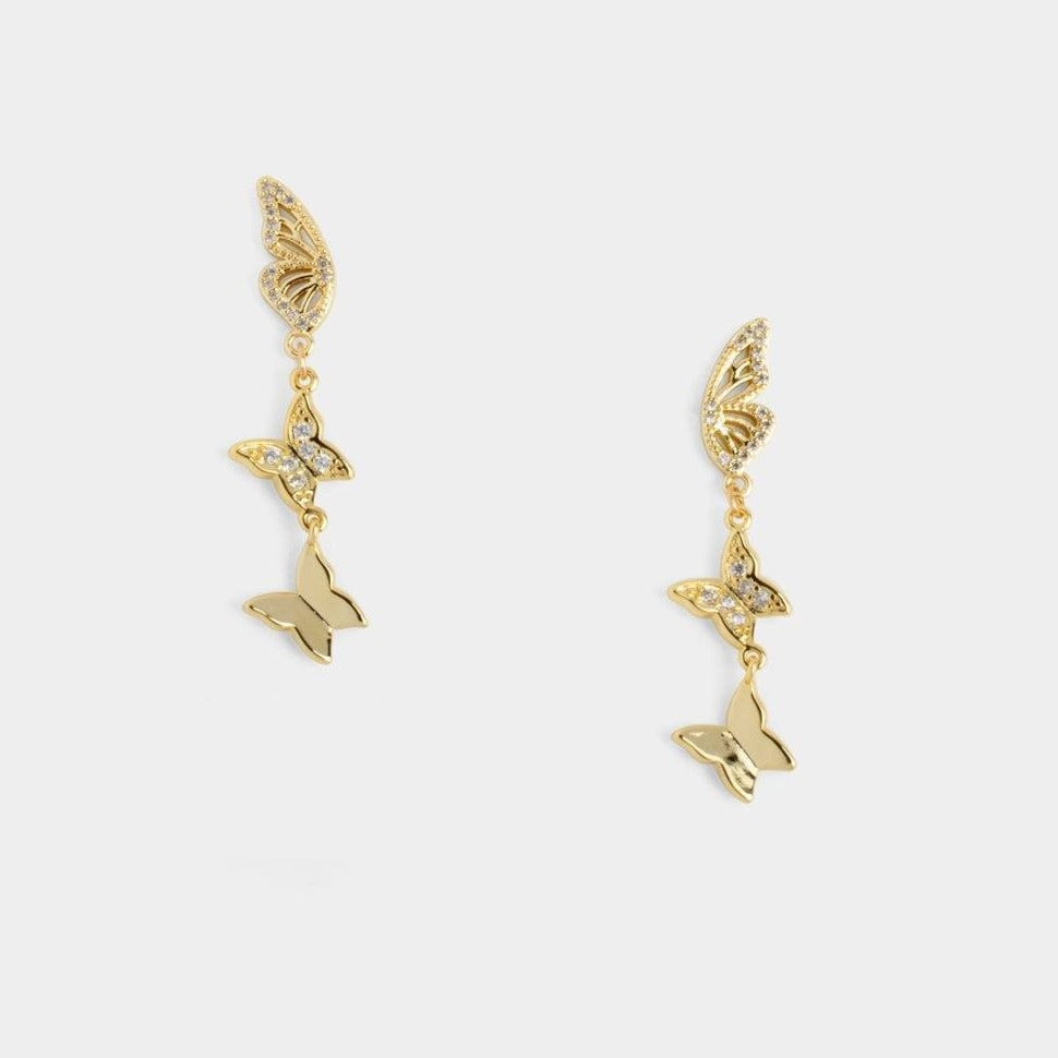Monarch Dangling Earrings
