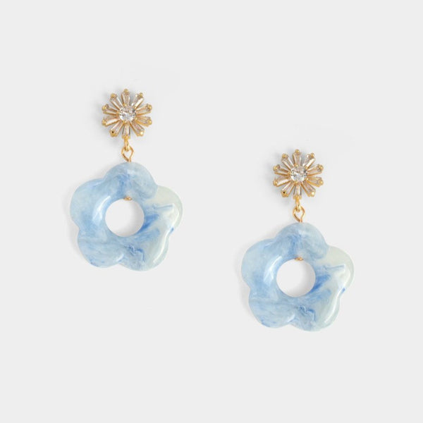 Bethany Floral Earrings