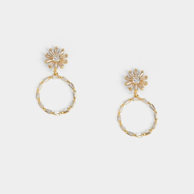 Bethany Circle Earrings
