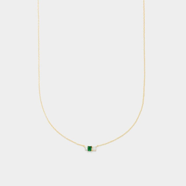 Bel Emerald Necklace