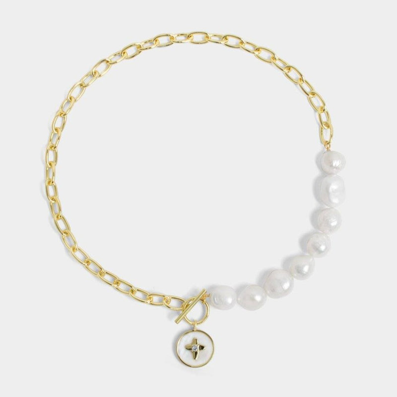 Aube Pearl Necklace