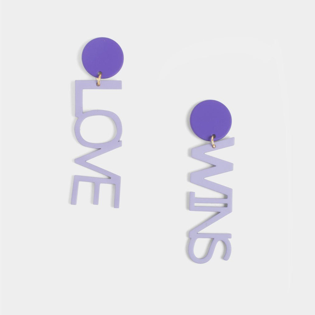Love Wins Earrings