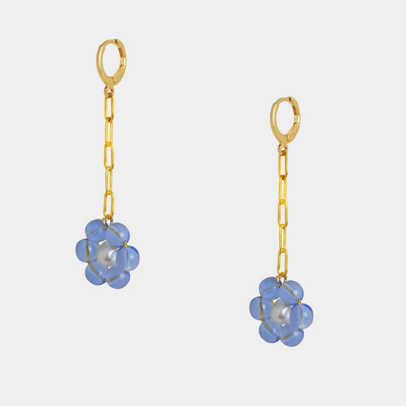 la fleur earrings-D