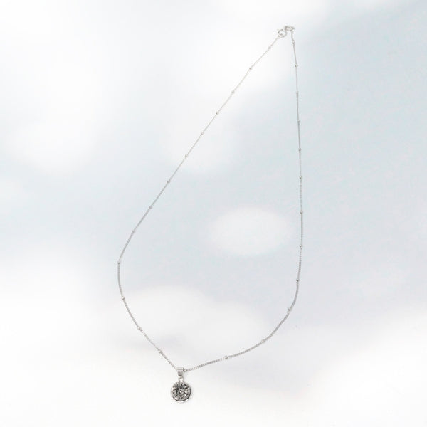 Taiya Round Agate Necklace