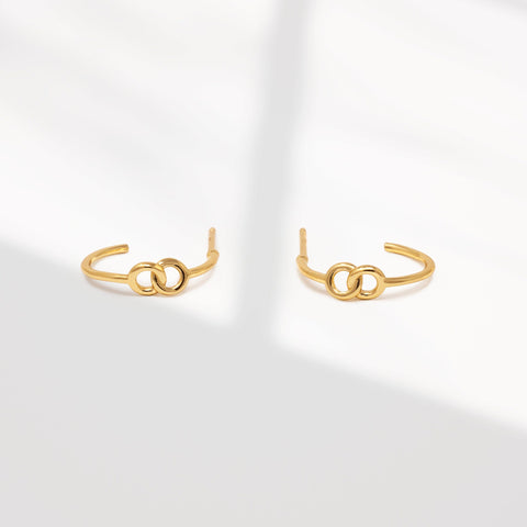 Lena hoop earrings