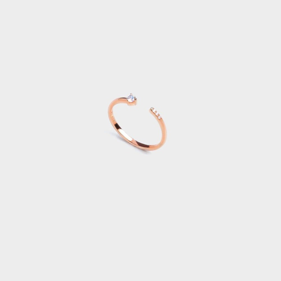 Eternity CZ open Ring