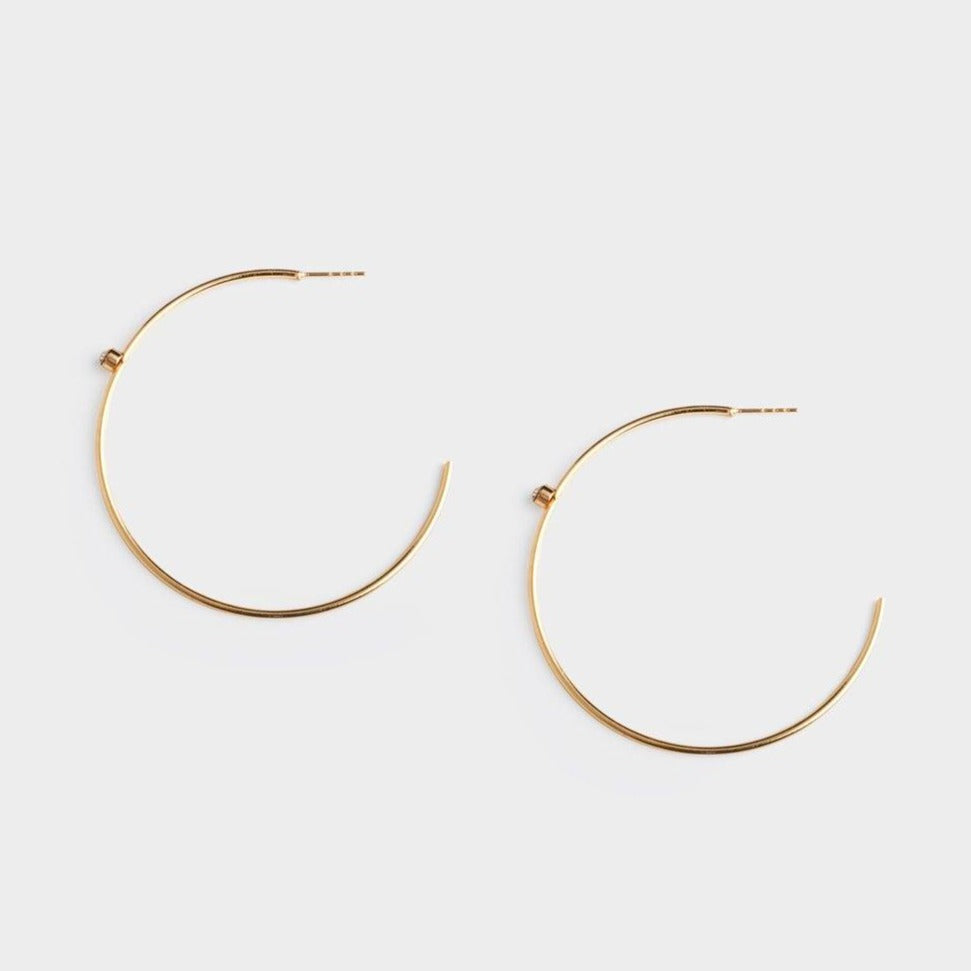 Angela Hoop Earrings