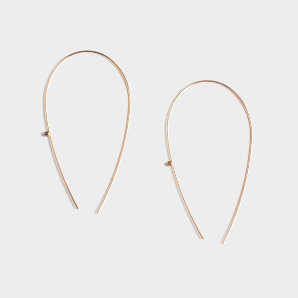 Ivy Long Arc Earrings