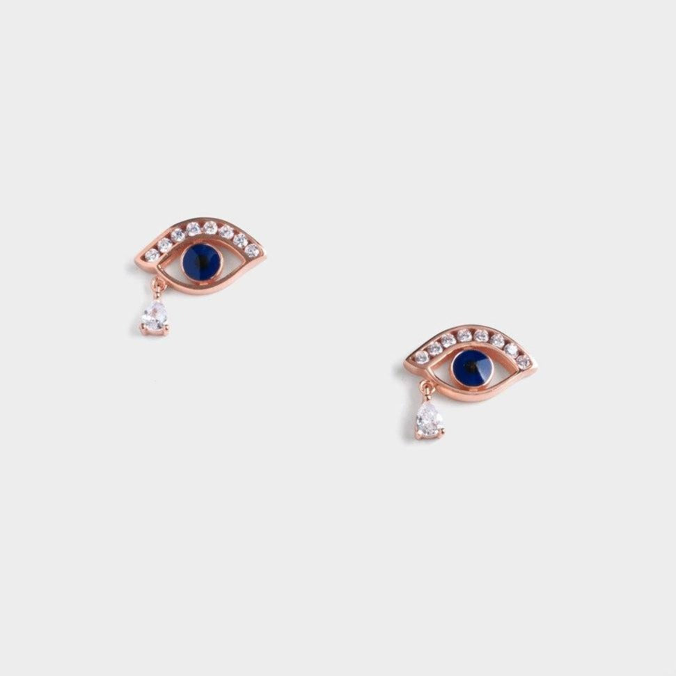 Cleopatra Studs with Tear