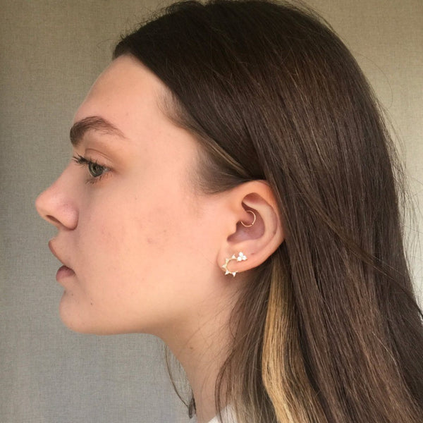 Bree Arc Earrings
