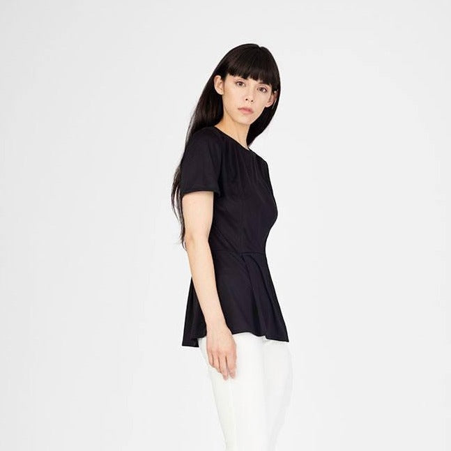Sunna Peplum Top - SiiZU | sustainable fashion