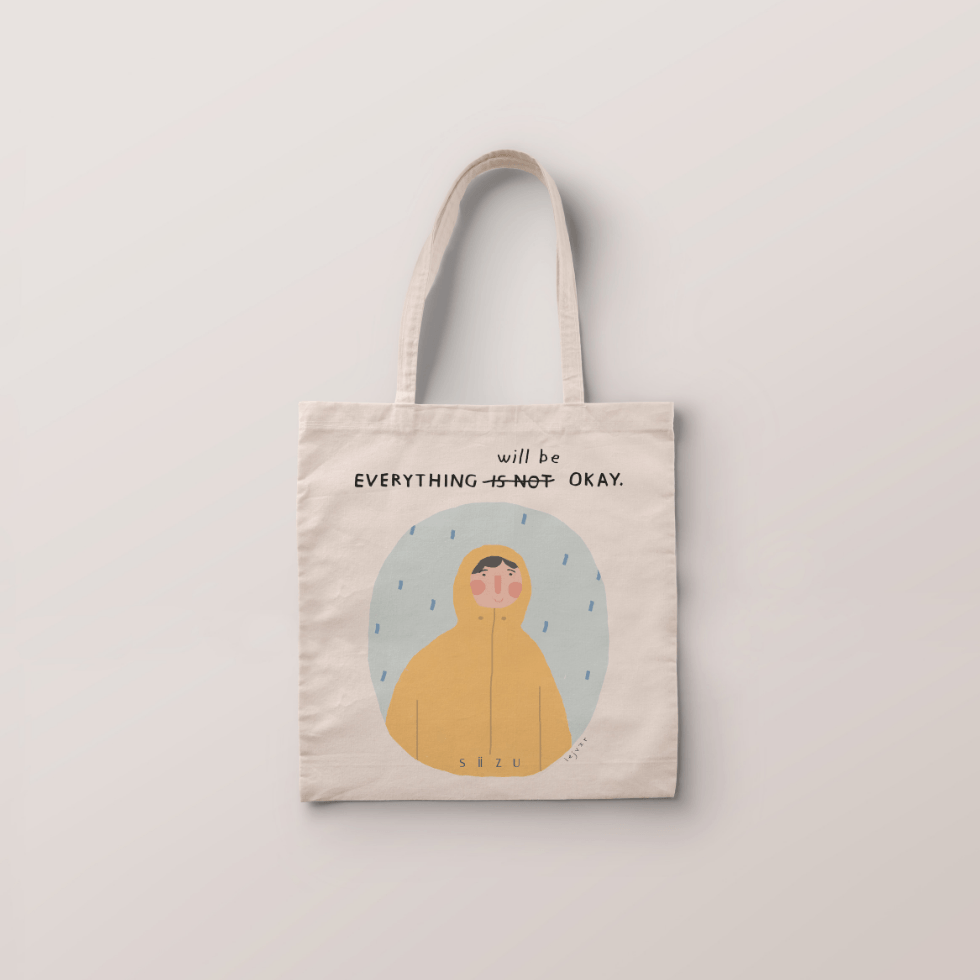 Everything will be ok -Tote Bag