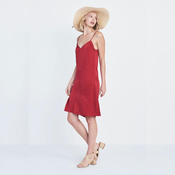 Silk V Slip Dress
