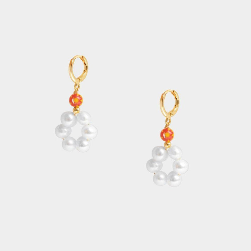 Gina Tiny Floral Earrings