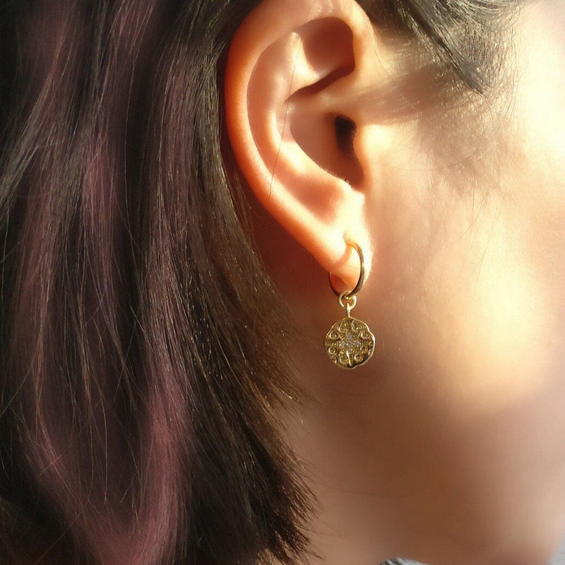 Aliyah Coin Earrings