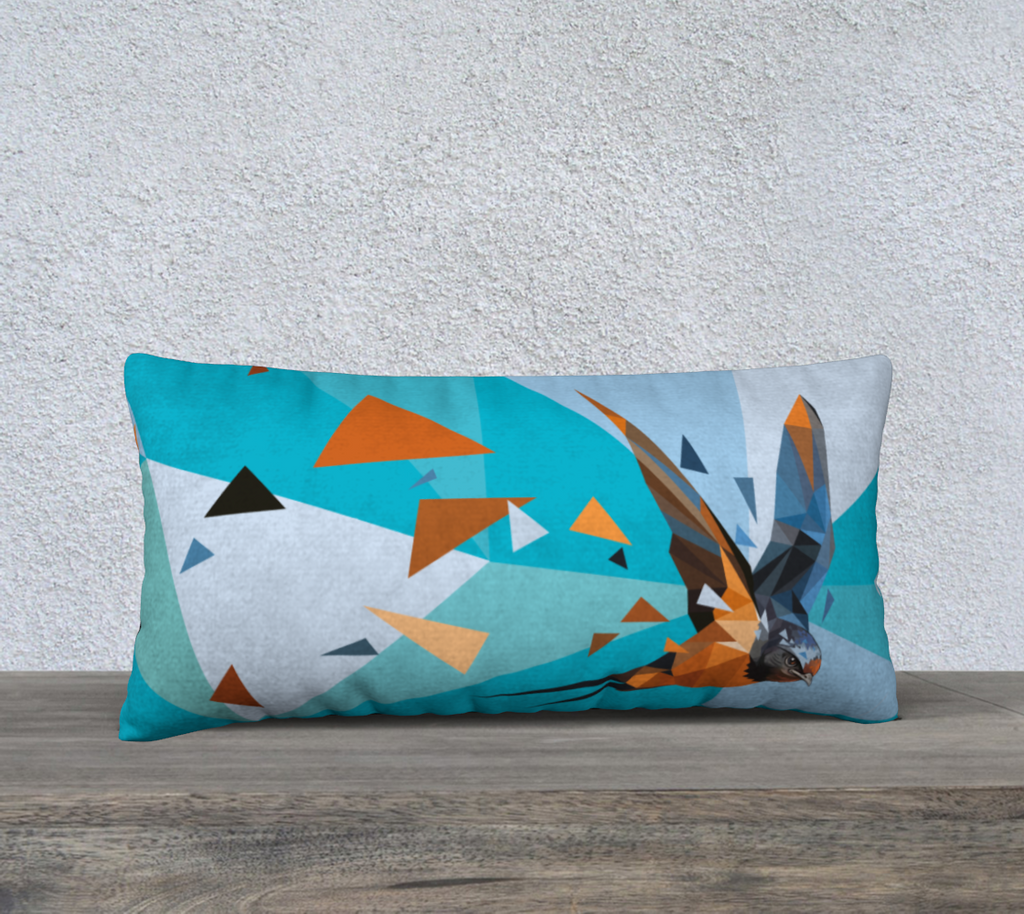 Swallow Pillow cover