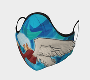 Head in the Clouds Face Covering - Reusable Mask