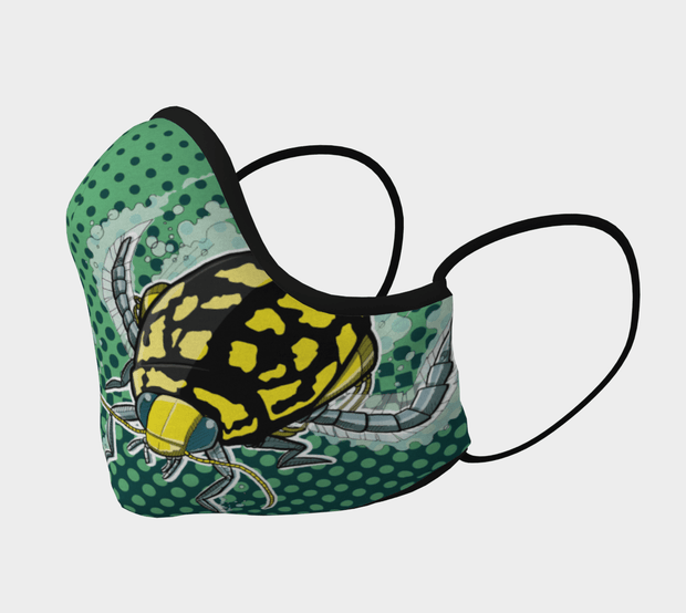 Diving Beetle Face Covering - Reusable Mask