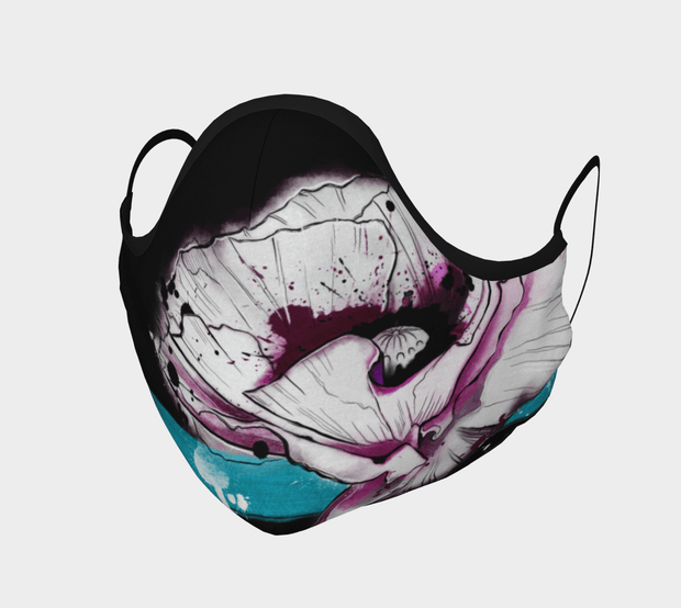 Poppy Face Covering - Reusable Mask