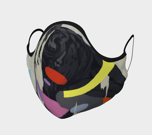 Crow Face Covering - Reusable Mask